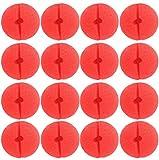 Vococal® Clown Nase,50 x Rote Nase Schaumstoff Nase, Dancepandas Red Nose Day Party(50 Clown Nose)