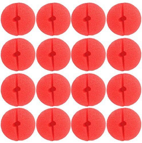 x Rote Nase Schaumstoff Nase, Dancepandas Red Nose Day Party(50 clown Nose) (Es Ist Der Clown Kostüm Für Halloween)