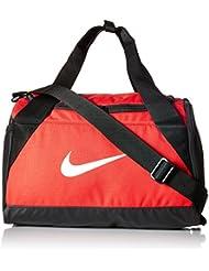 Nike Nk Brsla Xs Duff Bolsa de Deporte, Hombre, Rojo (University Red / Black / White), Talla Única
