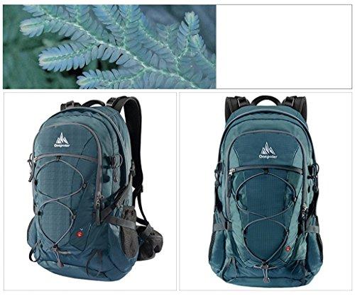 onepolar spalle Polar 40L di alpinismo uomini e donne all'aperto multifunzionale ultraleggera zaino da viaggio impermeabile coreano borsa verde scuro