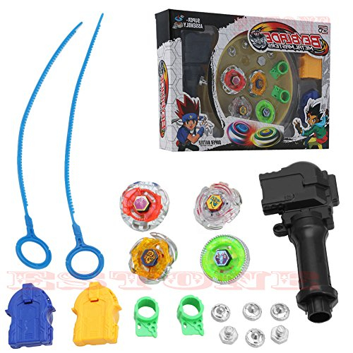 Top-Sell Beyblade Maître Combat Lanceur Spinning Top Gyro Jeu Jouets Enfant 0620321987967