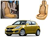 #9: Auto Pearl - Premium Quality Car Wooden Bead Seat Cover For - Maruti Suzuki Swift New Model