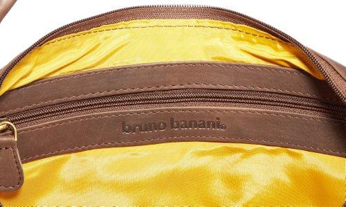 Bruno Banani Pattern_2 HTL 320_1017, Damen Schultertaschen 50x29x4 cm (B x H x T) Braun (Braun)
