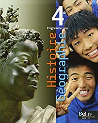 Histoire Géographie 4e : Programme 2011, format compact