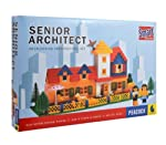 Spend Fun-filled Hours Constructing Miniature Models Enjoy watching your child build beautiful models from plastic blocks with the Peacock Senior Architect game set. Being non-toxic, these blocks are safe for your children. The set consists of blo...