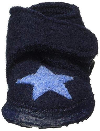 Nanga Stern, Chaussons garçon Bleu - Blau (dunkelblau / 32)