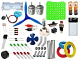 #10: ELECTRONICS 55 ITEMS LOOSE PARTS MATERIALS SCIENCE PROJECT KIT