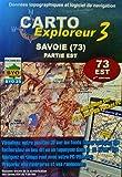 Données topographiques et logiciel de navigation : Savoie (73) partie Est, Données issues de la numérisation des cartes IGN au 1/25 000