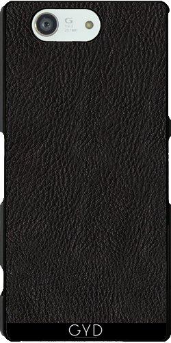 custodia-sony-xperia-z3-compact-pelle-nera-by-utart