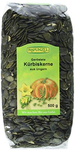 Rapunzel Kürbiskerne geröstet, 1er Pack (1 x 500 g) - Bio