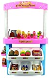 Kids Supermarket Ice Cream Dessert Toy Superstore play 47 pcs with light sound Battery-operated parts; includes Display Counter, Racks, Mock candies, Pretend play food items, Scanner, Calculator
