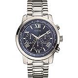 Guess Herren-Armbanduhr Chronograph Quarz Edelstahl W0379G3