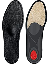 Pedag Unisex Grande Baumwoll Plantillas Big Zapatos - Negro, 36