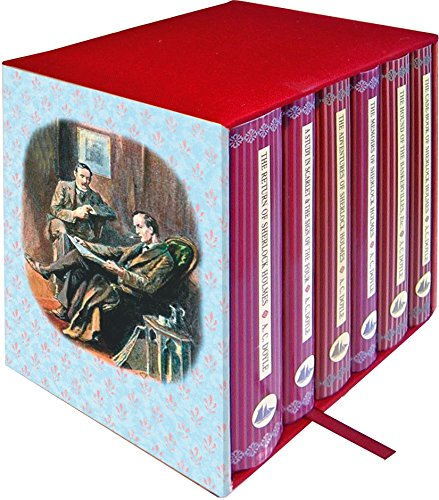 Sherlock Holmes 6-Book Boxed Set: Containing: The Adventures of Sherlock Holmes, The Casebook of Sherlock Holmes, The Hound of the Baskervilles & The ... & The Sign of the Four (Collector's Library) por Sir Arthur Conan Doyle
