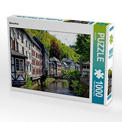 Preisvergleich Produktbild Monschau 1000 Teile Puzzle quer (CALVENDO Orte)