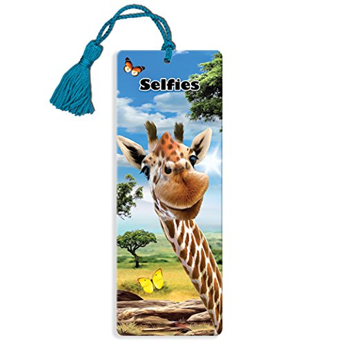 Howard Robinson Super 3D Bewegend Lesezeichen - Giraffe Selfie