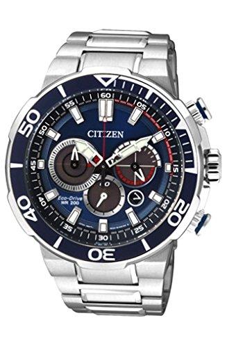 Orologio multifunzione uomo citizen marine sport trendy cod. ca4250-54l