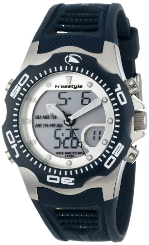 Freestyle Herren-Armbanduhr XL Shark X 2.0 Analog - Digital Kautschuk FS84878 Freestyle Shark Uhr Männer