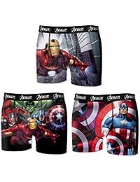 Marvel - Boxer Homme Avengers Lot De 3