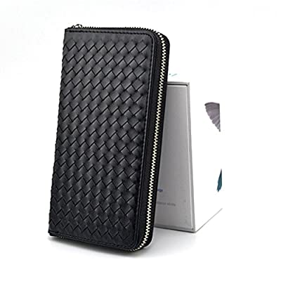 Leather PU IQOS 2.4 Plus Electronic Cigarette Zipper Wallet Protective Case with Card Holder