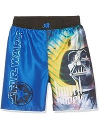 Star Wars-The Clone Wars Darth Vader Jedi Yoda Chicos Pantalón bañador - Azul