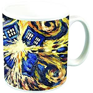 Titan Merchandise - Doctor Who mug Van Gogh Exploding TARDIS