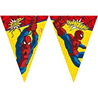 Disney 47092 Ultimate Spider-Man Party Decoration Banner Triangle Flag
