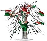 Beistle 50105 Miniatur-Kaskadenaufsatz, Italienische Flagge, 183 cm