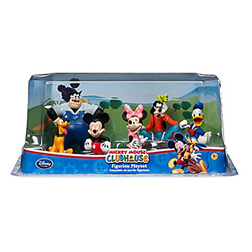 Ufficiale Disney Mickey Mouse Clubhouse 6 Figurine Playset