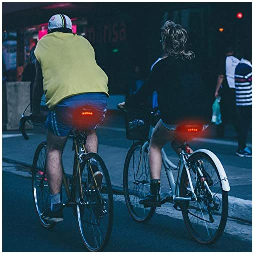 IPSXP Sella Bici ad Alta Rimbalzo con Luce Posteriore