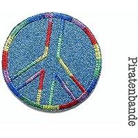 Jeansflicken Peace Patch zum Aufbügeln Bügelbild