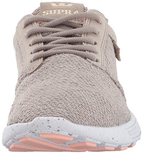 Supra Hammer Run, Sneaker Basse Donna Grün (Vintage Khaki-White)