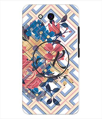 Inktree® Printed Designer Silicon Back Cover for Karbonn Indian 9 - Alphabet K