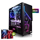 PC-Gaming AMD Ryzen 5 2600X 6x4.20GHz Turbo • Windows 10 • GeForce RTX 2060 6GB • 1000GB HDD • 240GB SSD • 16GB DDR4 • WLAN • pc da gaming • pc fisso • pc desktop • pc gaming assemblato
