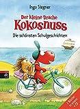 Der kleine Drache Kokosnuss - Die schönsten Schulgeschichten - Set: 2 Kokosnussbände mit CD (Sammelbände, Band 3)