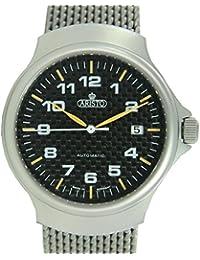 Aristo 3H63 - Reloj para hombres, correa de acero inoxidable