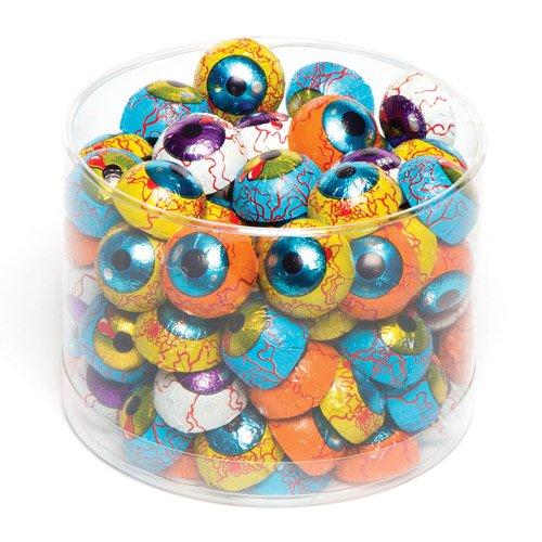 (Baker Ross Gruselige Augäpfel aus Schokolade. Halloween-Süßigkeiten, perfekt als kleine Überraschung, Preis bei Partyspielen oder Halloween-Mitgebsel (10 Stück))