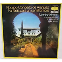 Deutsche Grammophon Accolade - 2542 150: Rodrigo: Concierto de Aranjuez Fantasia para un gentilhomme: Odon Alonso: LP