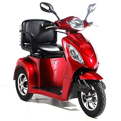 """Alpenmobil \""""Trike R3\"""" elektrisches altersgerechtes Invalidenfahrzeug / Behindertenfahrzeug für Senioren oder Personen mit einer Gehbehinderung"""