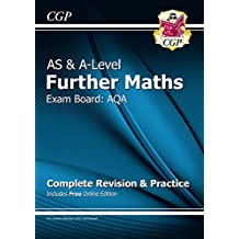 New AS & A-Level Further Maths for AQA: Complete Revision & Practice with Online Edition (CGP A-Level Maths)