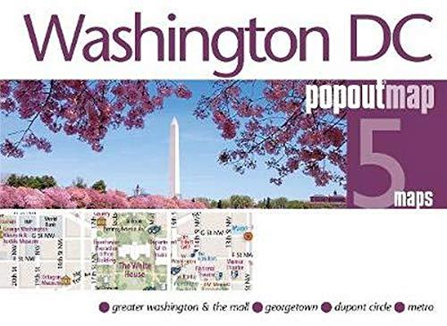 Popout Map Washington DC Double (Popout Maps)