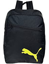Mochila Mochila Escolar, Ciudad Mochila, mochila de deporte Team Backpack 15L Puma Negro negro y amarillo