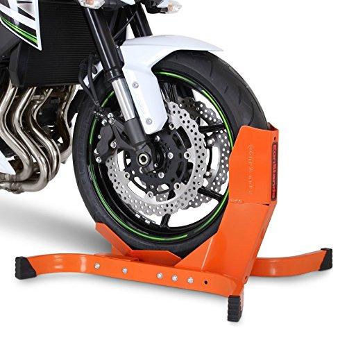 Calzo Para Rueda Moto Yamaha XVS 650 A Drag Star Classic Constands Easy Plus naranja