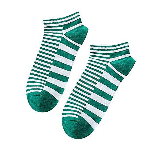 IFOUNDYOU Männer Baumwolle Socken Streifen Rutschfest Unsichtbar Socken Atmungsaktiv Mode Geschäft Sportsocken - Herren-daunen Socken