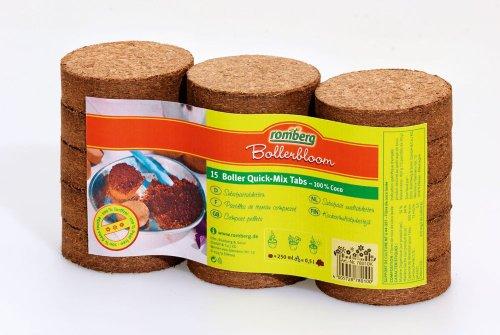 15 Boller substrattabletten quick-mix