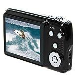 Ularma Amkov CDOE3 2,7-Zoll Kamera 3 X optischer Zoom 15MP HD Anti-Shake Video Digitalkamera 1# schwarz
