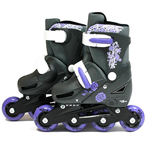 sk8-zone-girls-purple-roller-blades-inline-skates-adjustable-size-childrens-kids-pro-skating-new-lar