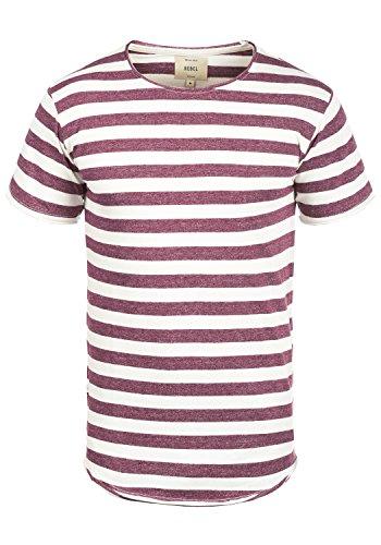 redefined-rebel-milo-t-shirt-da-uomo-taglialcolorebordeaux