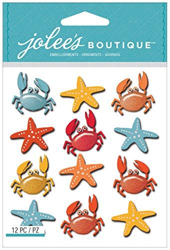 Jolee S Boutique Dimensional Stickers (Unbekannt Jolees Boutique dreidimensionale Aufkleber, Krebse und Seestern wiederholt)