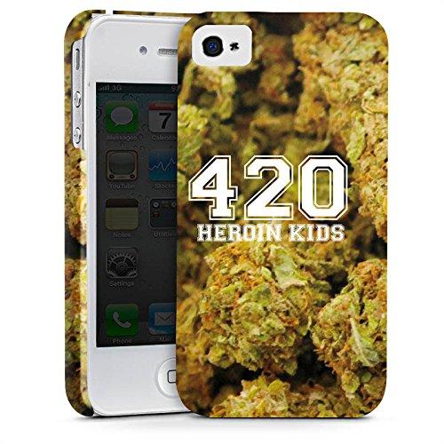 Apple iPhone X Silikon Hülle Case Schutzhülle 420 Weed College Premium Case glänzend